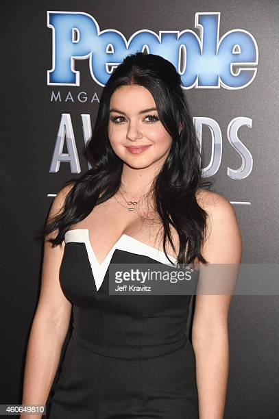 Actress Ariel Winter attends the PEOPLE Magazine Awards at The Beverly Hilton Hotel on December 18 2014 in Beverly Hills California