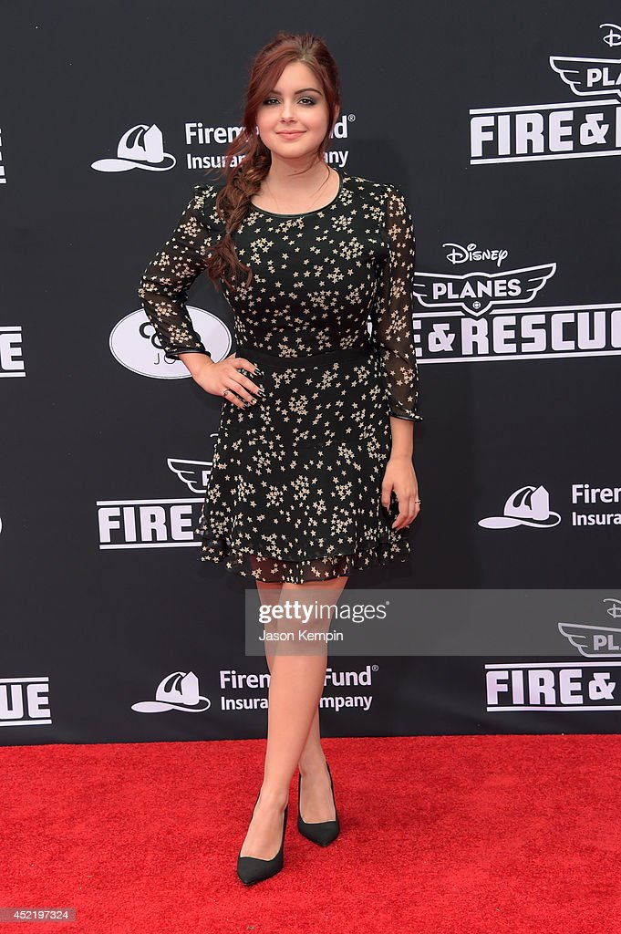 Actress Ariel Winter attends the premiere of Disney's 'Planes: Fire & Rescue' at the El Capitan Theatre on July 15, 2014 in Hollywood, California.