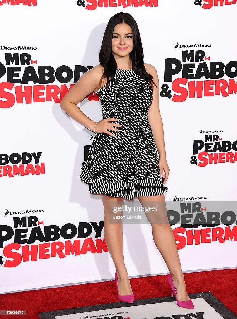 Actress Ariel Winter attends the premiere of 'Mr Peabody Sherman' at Regency Village Theatre on March 5 2014 in Westwood California