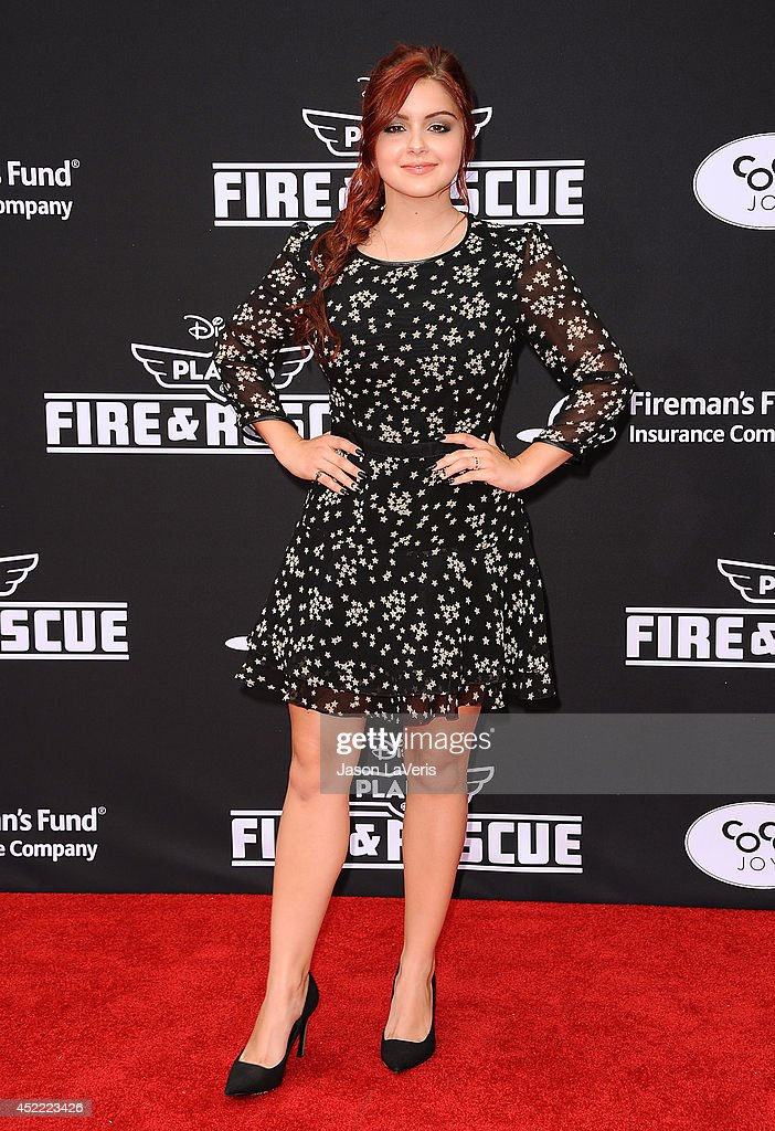 Actress Ariel Winter attends the premiere of 'Planes: Fire & Rescue' at the El Capitan Theatre on July 15, 2014 in Hollywood, California.