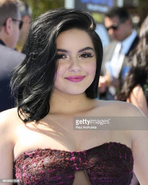 Actress Ariel Winter attends the premiere of 'Smurfs The Lost Village' at ArcLight Cinemas on April 1 2017 in Culver City California
