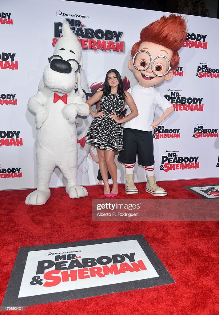 Actress Ariel Winter attends the premiere of Twentieth Century Fox and DreamWorks Animation's 'Mr Peabody Sherman' at Regency Village Theatre on...