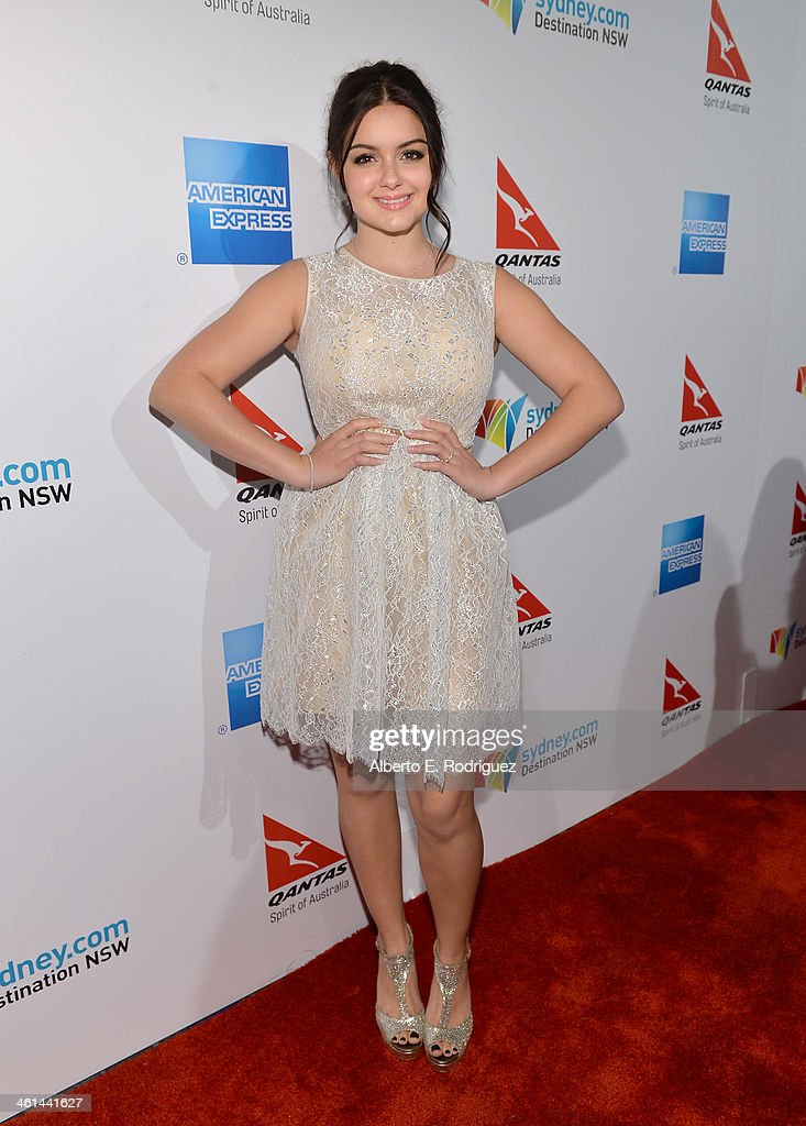 Actress Ariel Winter attends the Qantas Spirit Of Australia Party on January 8 2014 in Beverly Hills California