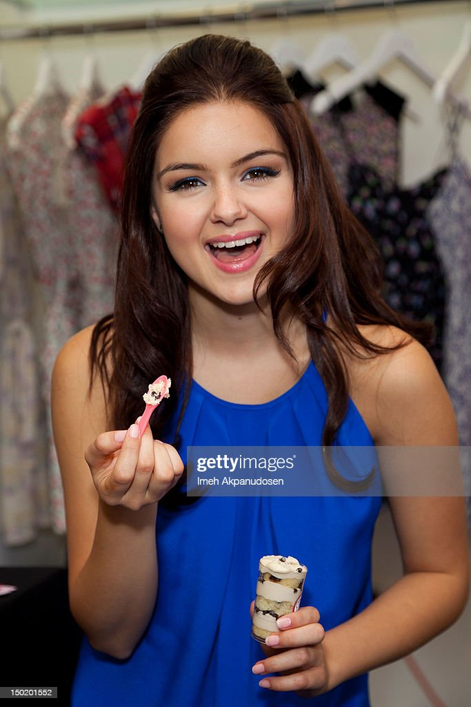 Actress Ariel Winter attends the Teen Vogue Back-To-School Event & Madison t Boutique Launch Party on August 11, 2012 in Pacific Palisades, California.