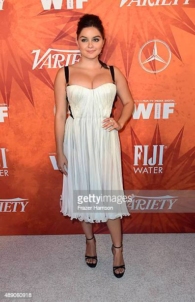 Actress Ariel Winter attends the Variety and Women in Film Annual PreEmmy Celebration at Gracias Madre on September 18 2015 in West Hollywood...
