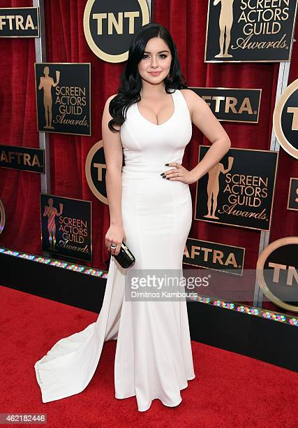 Actress Ariel Winter attends TNT's 21st Annual Screen Actors Guild Awards at The Shrine Auditorium on January 25 2015 in Los Angeles California...