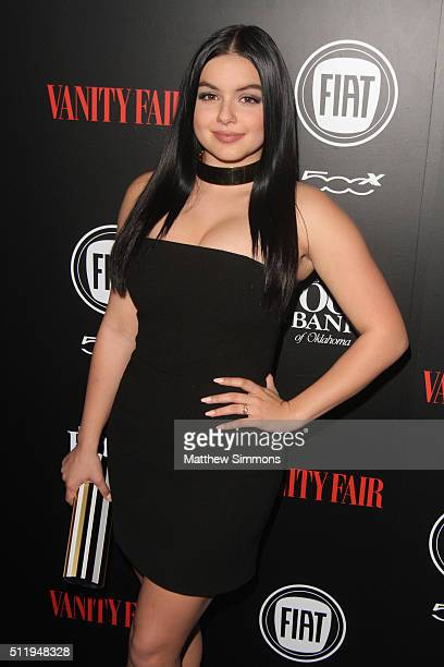Actress Ariel Winter attends Vanity Fair and FIAT Young Hollywood Celebration at Chateau Marmont on February 23 2016 in Los Angeles California
