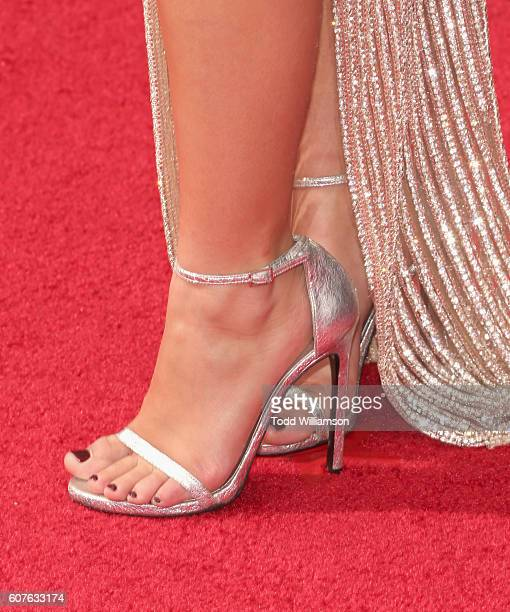 Actress Ariel Winter shoe detail attends the 68th Annual Primetime Emmy Awards at Microsoft Theater on September 18 2016 in Los Angeles California