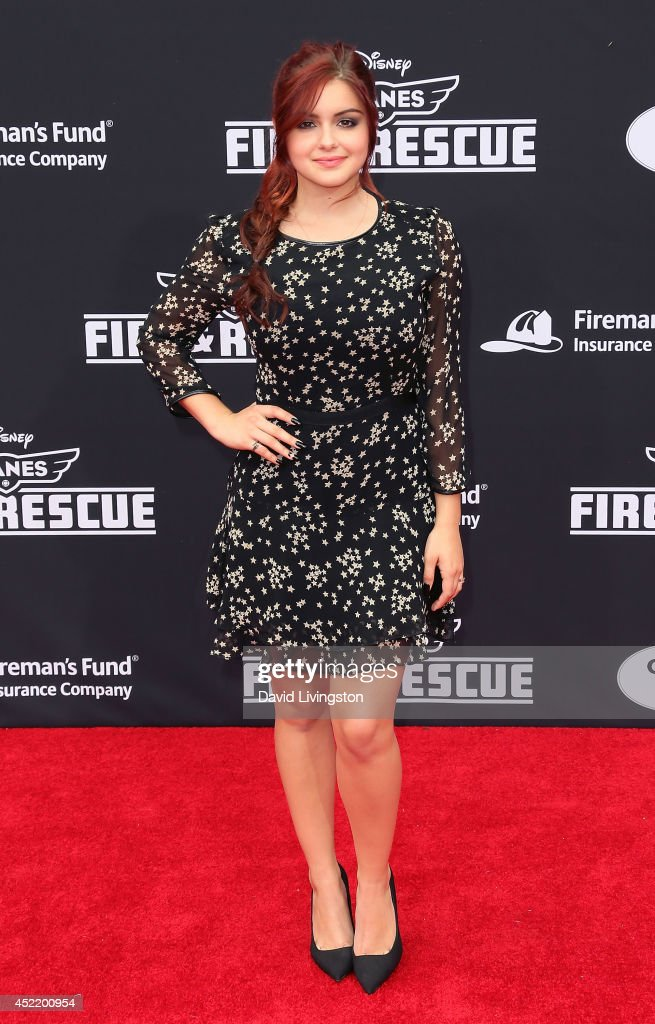 Actress Ariel Winters attends the premiere of Disney's 'Planes: Fire & Rescue' at the El Capitan Theatre on July 15, 2014 in Hollywood, California.