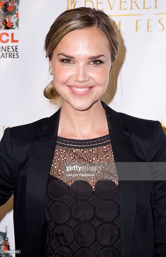 Actress Arielle Kebbel attends the opening night gala for the 13th Annual Beverly Hills Film Festival at TCL Chinese Theatre on May 8, 2013 in Hollywood, California.