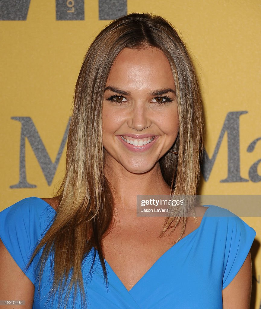 Actress <a gi-track='captionPersonalityLinkClicked' href=/galleries/search?phrase=Arielle+Kebbel&family=editorial&specificpeople=207049 ng-click='$event.stopPropagation()'>Arielle Kebbel</a> attends the Women In Film 2014 Crystal + Lucy Awards at the Hyatt Regency Century Plaza on June 11, 2014 in Century City, California.