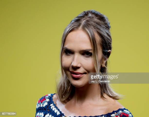 Actress Arielle Kebbel from the television series 'Midnight Texas' is photographed in the LA Times photo studio at ComicCon 2017 in San Diego CA on...