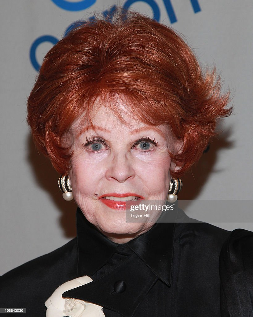 Actress Arlene Dahl attends the 2013 Caron New York Gala at Cipriani 42nd Street on May 15, 2013 in New York City.