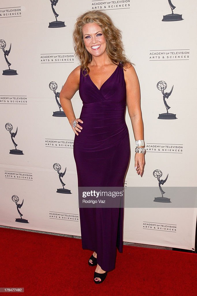 Actress Arriane Alexander arrives at the Academy of Television Arts & Sciences 65th Los Angeles Area Emmy Awards at Leonard H. Goldenson Theatre on August 3, 2013 in North Hollywood, California.