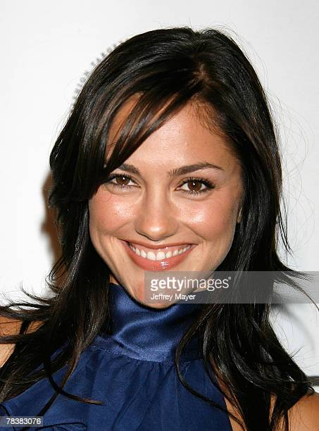 Actress arrives to the In Style CFDA Event at Morton's Restaurant on October 16 2007 in West Hollywood California