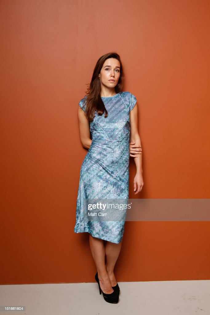 Actress <a gi-track='captionPersonalityLinkClicked' href=/galleries/search?phrase=Arta+Dobroshi&family=editorial&specificpeople=5349596 ng-click='$event.stopPropagation()'>Arta Dobroshi</a> of 'Three Worlds' poses at the Guess Portrait Studio during 2012 Toronto International Film Festival on September 12, 2012 in Toronto, Canada.