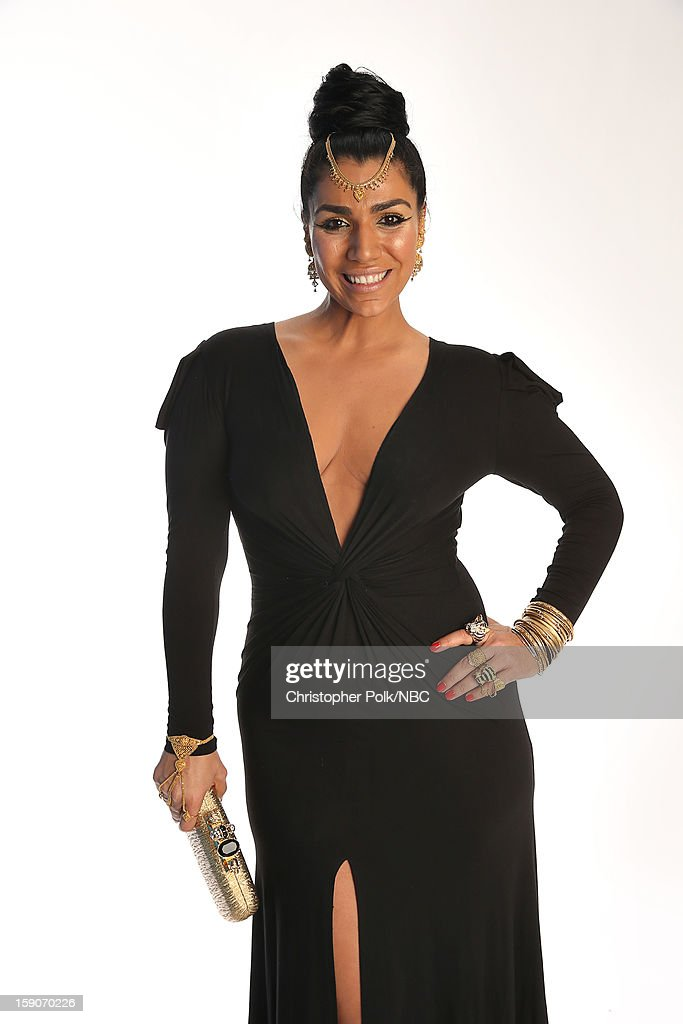 Actress Asa Soltan Rahmati attends the NBCUniversal 2013 TCA Winter Press Tour at The Langham Huntington Hotel and Spa on January 6, 2013 in Pasadena, California.