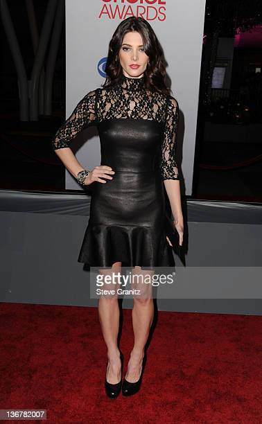 Actress Ashely Greene arrives at the People's Choice Awards 2012 at Nokia Theatre LA Live on January 11 2012 in Los Angeles California
