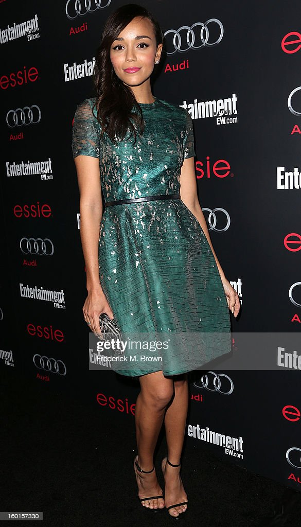 Actress Ashely Madekwe attends Entertainment Weekly Screen Actors Guild Awards Pre-Party at Chateau Marmont on January 26, 2013 in Los Angeles, California.