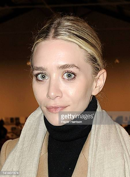 Actress Ashely Olsen arrives at the Santa Monica Museum of Art's 1st Precognito Gala and Preview Event on March 15 2012 in Santa Monica California