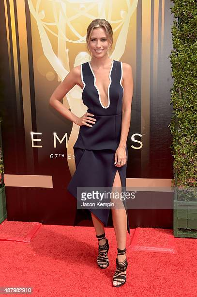 Actress Ashlan Gorse attends the 2015 Creative Arts Emmy Awards at Microsoft Theater on September 12 2015 in Los Angeles California