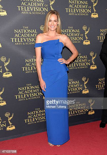Actress Ashlan Gorse attends the 42nd Annual Daytime Creative Arts Emmy Awards at Universal Hilton Hotel on April 24 2015 in Universal City California