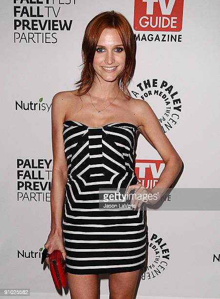 Actress Ashlee SimpsonWentz attends the The CW fall preview party presented by TV Guide at The Paley Center for Media on September 14 2009 in Beverly...