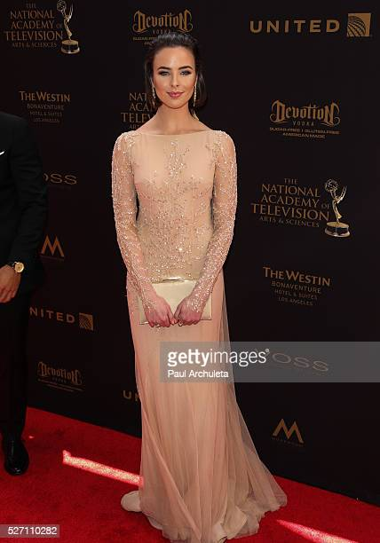 Actress Ashleigh Brewer attends the 2016 Daytime Emmy Awards at The Westin Bonaventure Hotel on May 1 2016 in Los Angeles California