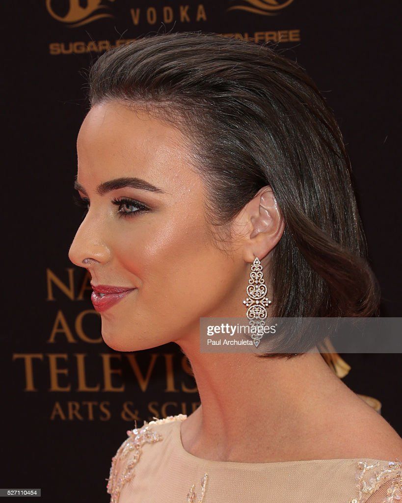 Actress Ashleigh Brewer attends the 2016 Daytime Emmy Awards at The Westin Bonaventure Hotel on May 1, 2016 in Los Angeles, California.