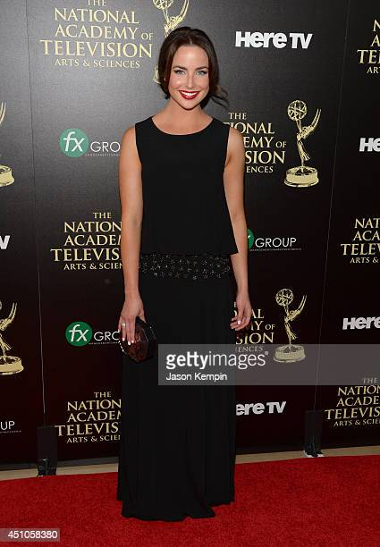 Actress Ashleigh Brewer attends The 41st Annual Daytime Emmy Awards at The Beverly Hilton Hotel on June 22 2014 in Beverly Hills California