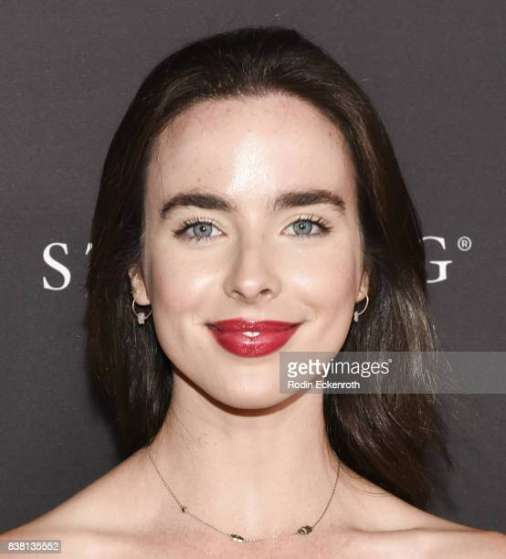 Actress Ashleigh Brewer attends the Television Academy's Cocktail Reception with Stars of Daytime Television Celebrating 69th Emmy Awards at Saban...