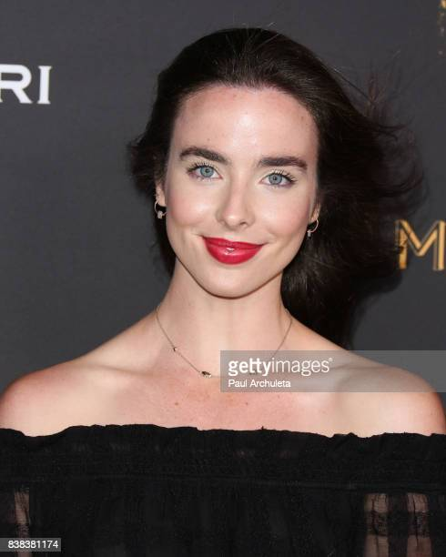 Actress Ashleigh Brewer attends the Television Academy's cocktail reception with the Stars of Daytime Television celebrating The 69th Emmy Awards at...