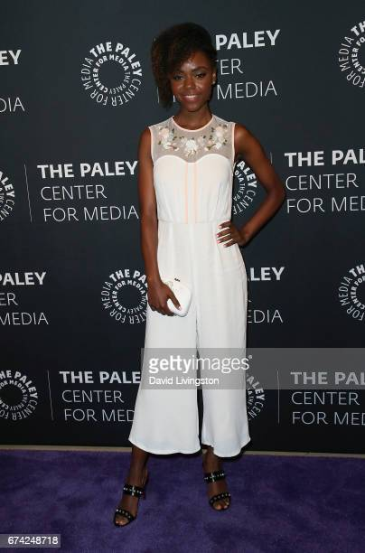 Actress Ashleigh Murray attends the 2017 PaleyLive LA Spring Season 'Riverdale' screening and conversation at The Paley Center for Media on April 27...