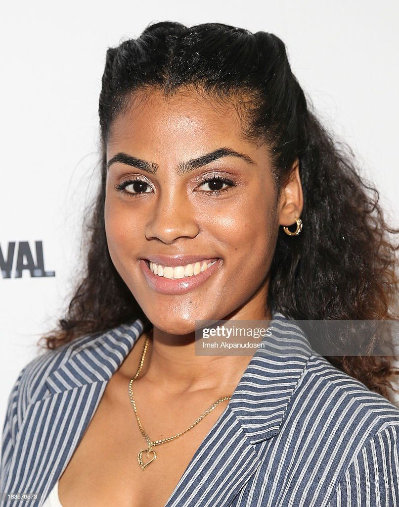 Actress Ashley A. Williams attends the closing night for the Hollywood Black Film Festival (HBFF) at The Ricardo Montalban Theatre on October 6, 2013 in Hollywood, California.
