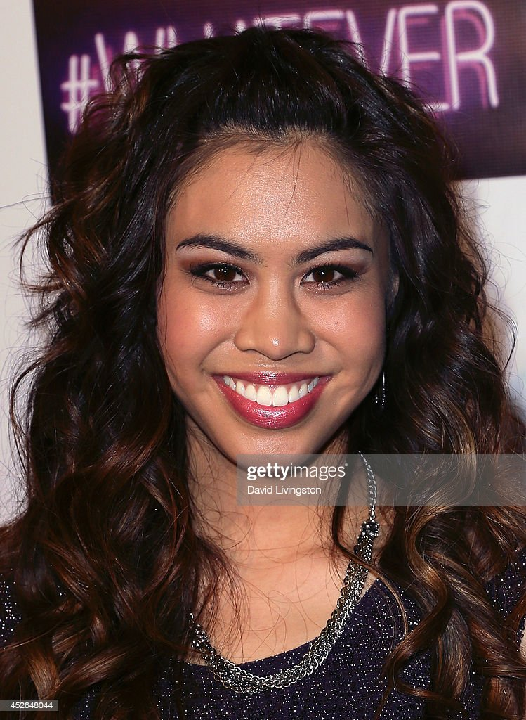 Actress <a gi-track='captionPersonalityLinkClicked' href=/galleries/search?phrase=Ashley+Argota&family=editorial&specificpeople=5626349 ng-click='$event.stopPropagation()'>Ashley Argota</a> attends actress Madison Pettis' Sweet 16 Birthday Party at the Emerson Theatre on July 24, 2014 in Hollywood, California.