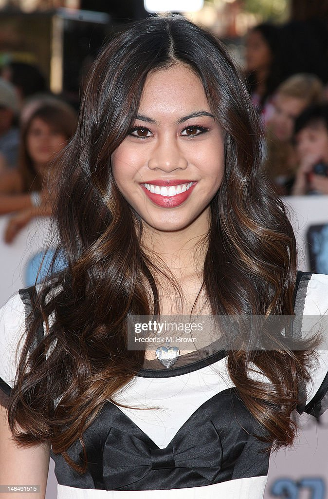 Actress Ashley Argota attends the Premiere Of Summit Entertainment's 'Step Up Revolution' at Grauman's Chinese Theatre on July 17, 2012 in Hollywood, California.