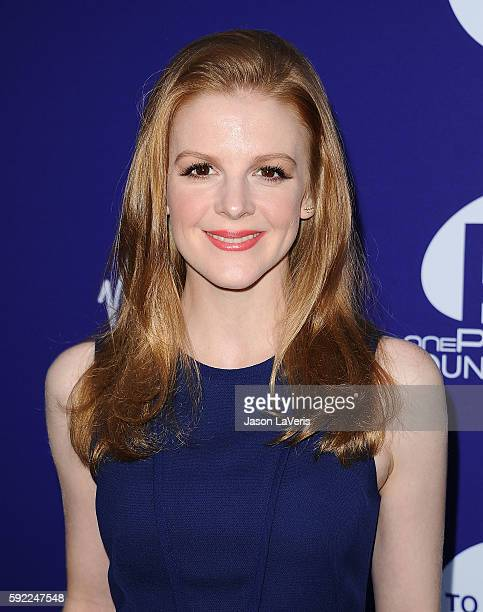 Actress Ashley Bell attends a benefit for onePULSE Foundation at NeueHouse Hollywood on August 19 2016 in Los Angeles California