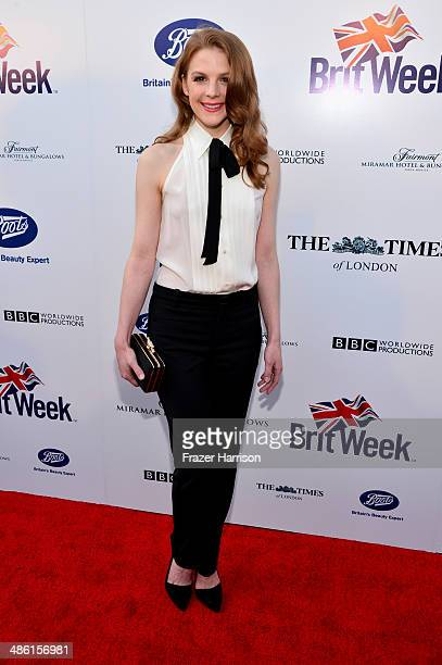 Actress Ashley Bell attends the 8th Annual BritWeek Launch Party at a private residence on April 22 2014 in Los Angeles California
