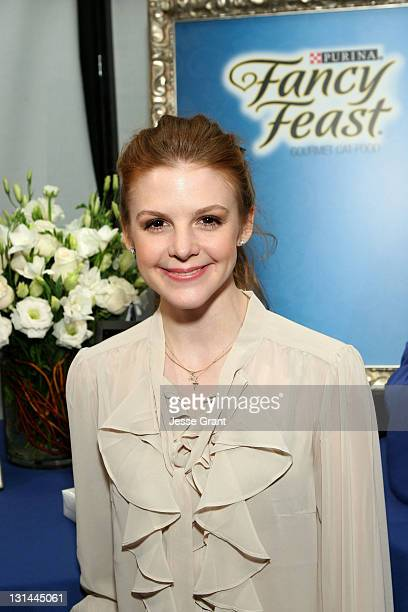 Actress Ashley Bell attends the Access Hollywood 'Stuff You Must' Lounge produced by On 3 Productions at the Sofitel Hotel on January 14 2011 in Los...