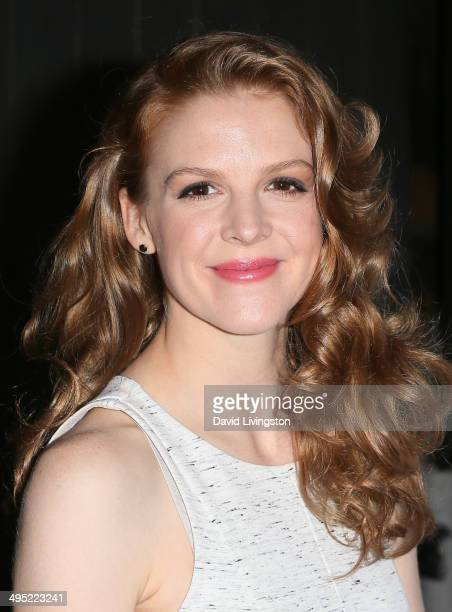 Actress Ashley Bell attends the Groundlings 40th Anniversary Gala at Hyde Lounge on June 1 2014 in West Hollywood California