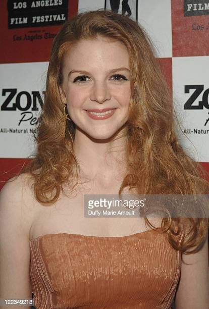 Actress Ashley Bell attends 'The Last Exorcism' Ford Screening during the 2010 Los Angeles Film Festival at John Anson Ford Amphitheatre on June 24...