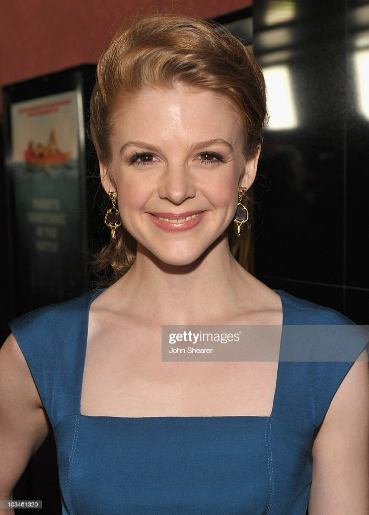 Actress Ashley Bell attends the Weinstein Company 'Piranha 3D' premiere at Mann Chinese 6 on August 18, 2010 in Hollywood, California.