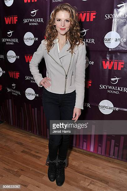 Actress Ashley Bell attends Women In Film Tenth Annual Sundance Filmmakers Panel Presented by Skywalker Sound on January 24 2016 in Park City Utah
