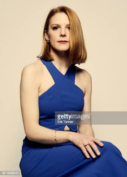 Actress Ashley Bell from 'Psychopaths' poses for a portrait at the 2017 Tribeca Film Festival portrait studio on April 20 2017 in New York City