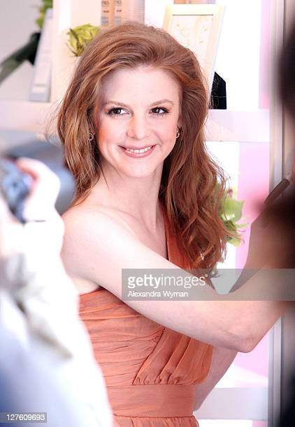 Actress Ashley Bell poses in the ELLE green room during the 2011 Film Independent Spirit Awards at Santa Monica Beach on February 26 2011 in Santa...