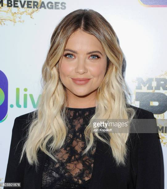 Actress Ashley Benson arrives at iGolive Launch Event at the Beverly Wilshire Four Seasons Hotel on July 26 2017 in Beverly Hills California