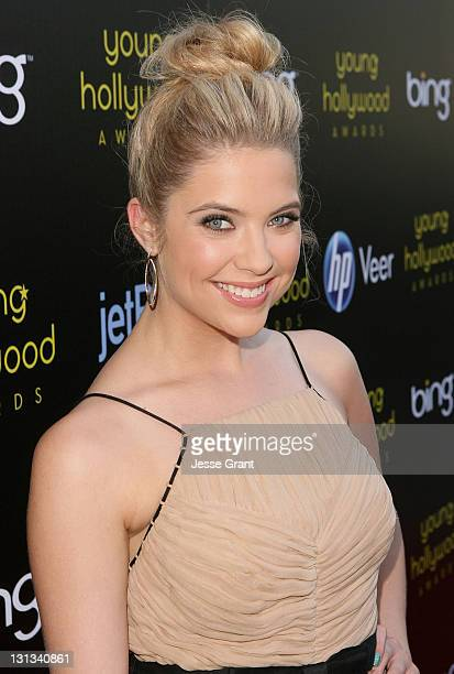Actress Ashley Benson arrives at the 2011 Young Hollywood Awards presented by Bing at Club Nokia on May 20 2011 in Los Angeles California