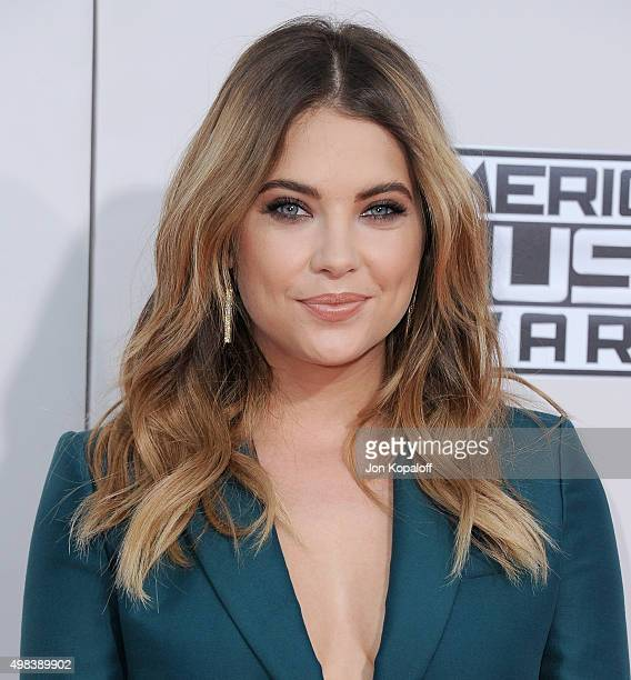 Actress Ashley Benson arrives at the 2015 American Music Awards at Microsoft Theater on November 22 2015 in Los Angeles California