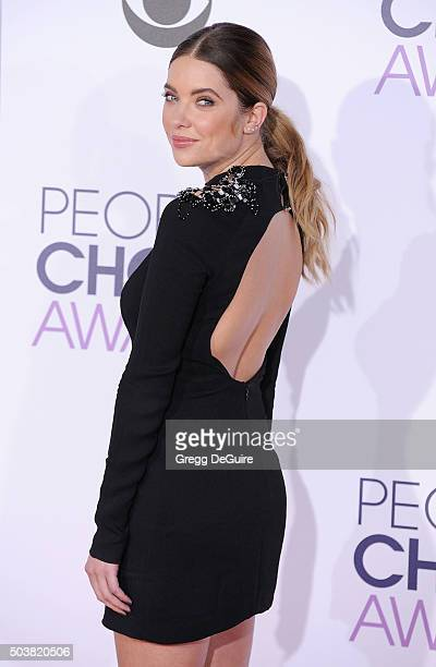 Actress Ashley Benson arrives at the 2016 People's Choice Awards at Microsoft Theater on January 6 2016 in Los Angeles California