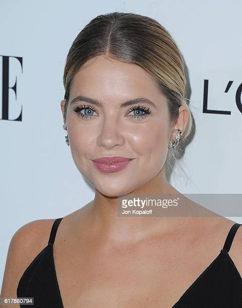 Actress Ashley Benson arrives at the 23rd Annual ELLE Women In Hollywood Awards at Four Seasons Hotel Los Angeles at Beverly Hills on October 24 2016...